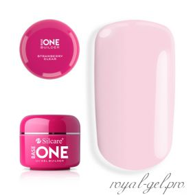 Gel Base One Clear Strawberry Silcare 15 гр