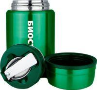 Суповой термос из нержавеющей стали Biostal NTS 500 мл зелёный
