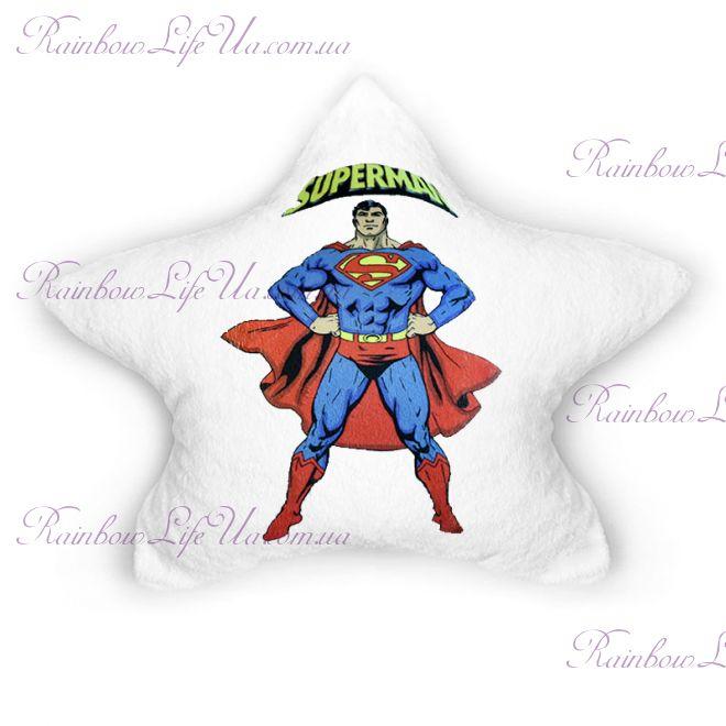 """Подушка светящаяся """"Superman"""""""