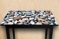 Наклейка на стол - Камни | фотопечать Интерьерные наклейки