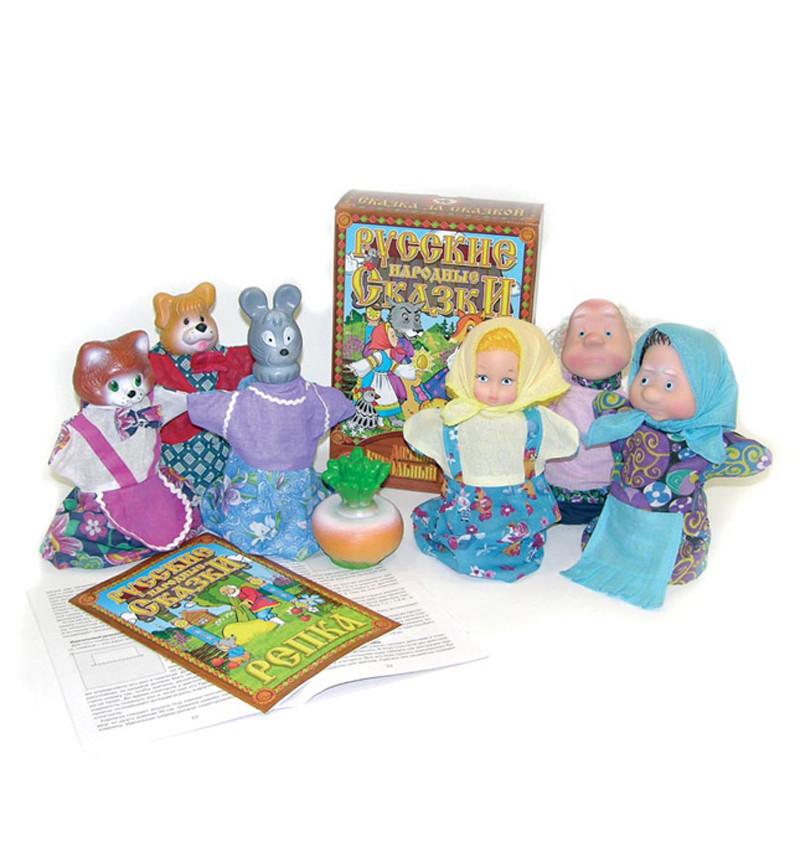 Кукольный театр Репка 7 персонажей