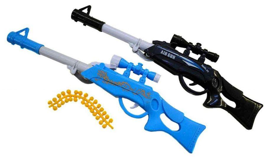 Ружье с мягкими пулями 3цв в блистер