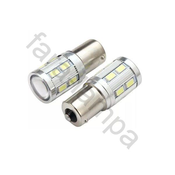 Светодиодные лампочки для авто одноконтактные 1156 (P21W-BA15S)