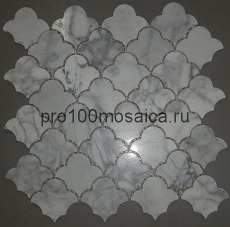 KA112 Мозаика серия Камень размер чипа 65*60, мм: 270*270*7 (Happy Mosaic)