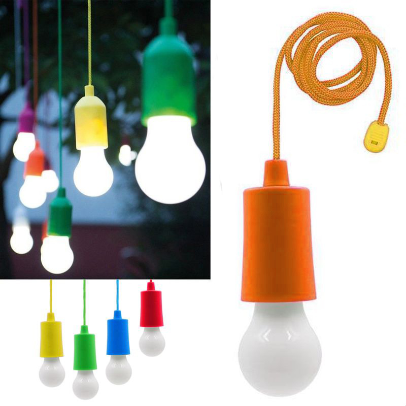 Светодиодная Лампочка На Шнурке Led Stretch Switch Light, Цвет Оранжевый