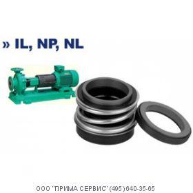 Торцевое уплотнение для насоса Wilo-IL 80/170-15/2