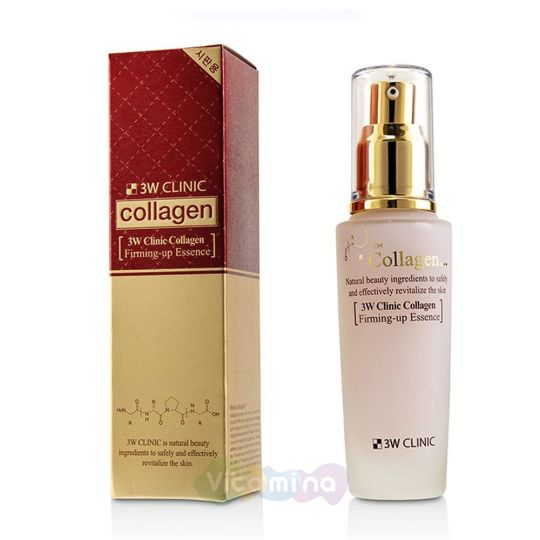 3W CLINIC Укрепляющая эссенция с коллагеном Collagen Firming Up Essence, 50 мл