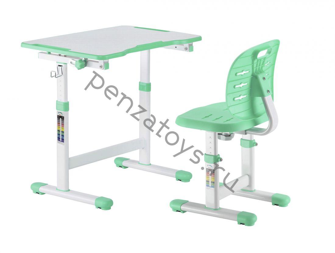 Комплект растущие парта+стул Fundesk Omino