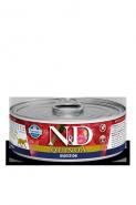 Farmina N&D Quinoa Digestiont Консервы для кошек с киноа, для пищеварения 80 гр