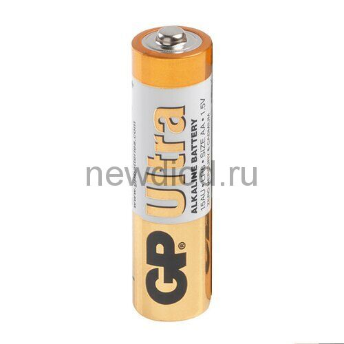 Батарейка GP LR06 Ultra Alkaline (Пленка 2 шт.)