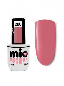 MIO гель-лак для ногтей 206, 10 ml