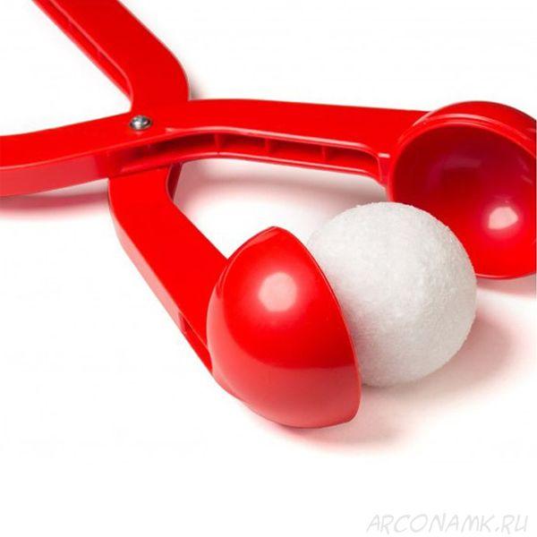 Снежколеп (диаметр снежка 5 см), Цвет: Красный
