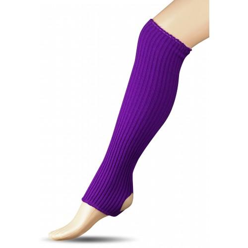Гетры для гимнастики и танцев (шерсть) СН1 фиолетовые