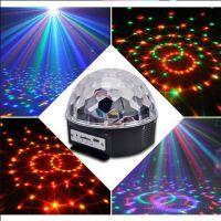 Диско-шар Led Crystal Magic Ball Light с пультом д/у