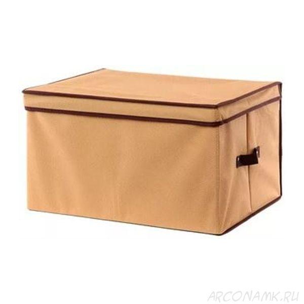 Складной кофр с жёстким каркасом для хранения вещей, Размер: 40х40х25 см