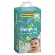 Pampers Active Baby 6-10кг, 124шт (3)