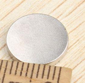 Магнит неодимовый диск 12х2 мм