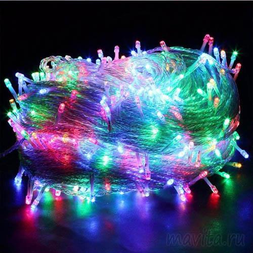 Светодиодная гирлянда 240 LED