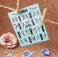 Слайдер-дизайн 3d-254 «Веточки»  Dream Nails (водные наклейки)