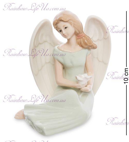 "Фигурка девушка - ангел с цветком ""VS"""