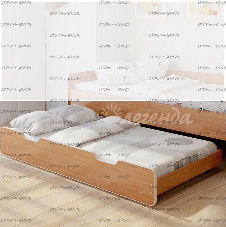 Подкатное спальное место Легенда Л-03 (к мод.10,14) 80Х160