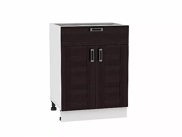 Шкаф нижний Лофт Н601 (Wenge Veralinga)