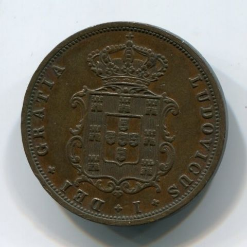 5 рейс 1879 года Португалия XF+
