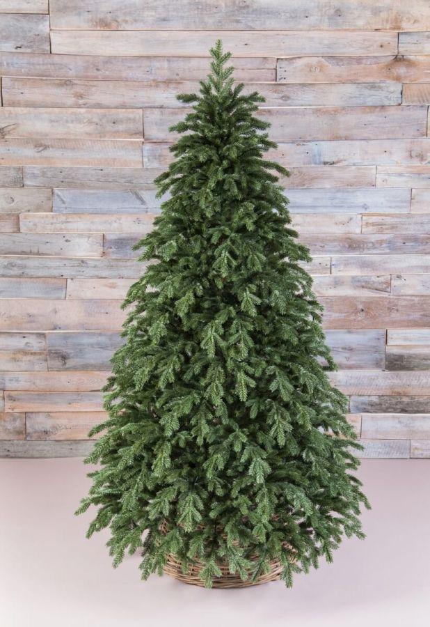 Искусственная елка Царская full РЕ 215 см зеленая