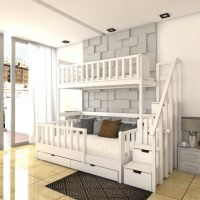 Кровать двухъярусная Factory №2
