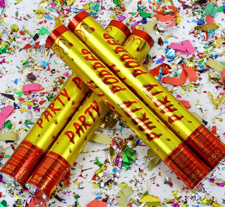 Хлопушка-Серпантин Party Popper 60 См