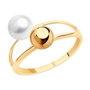 Кольцо из золота с жемчугом 791158 SOKOLOV