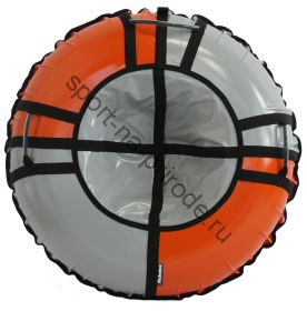 Тюбинг Hubster Sport Pro серый-оранжевый 80 см