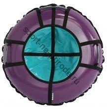 Тюбинг Hubster Ринг Pro фиолетовый-бирюзовый 100 см