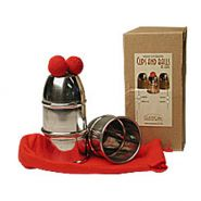 Cups and balls with chop cup included Aluminum by bazar de magia