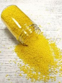 Жемчуг (перламутр) Желтый солнечный 200 гр без аромата