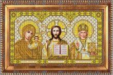 И-4090 Благовест. Триптих в золоте. А4 (набор 800 рублей)