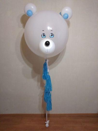 Милейший Мишка шар латексный с гелием