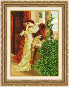 Благовест К-3083 Влюбленная пара схема для вышивки бисером купить оптом в магазине Золотая Игла