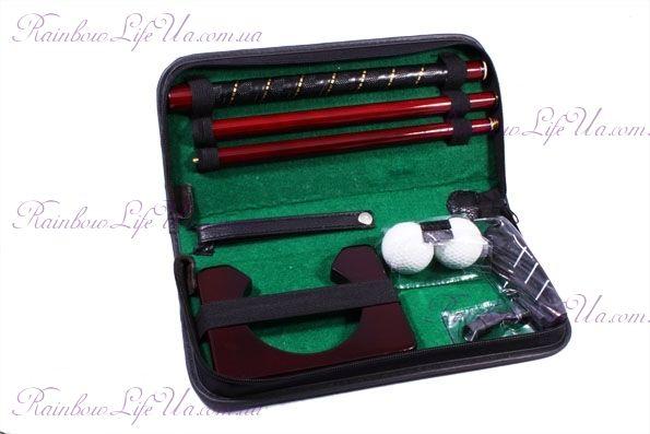 """Набор для гольфа в кожанном кейсе """"Z.F.Golf"""""""