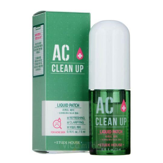 Etude House Жидкий патч для проблемной кожи AC Clean Up Liquid Patch, 5 мл