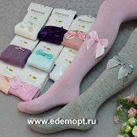 """Колготки с бантиком """" ФЕННА"""" 2-11 лет  №ФН33"""