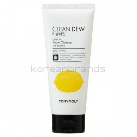 TONY MOLY Clean Dew Lemon Foam Cleanser 180 ml