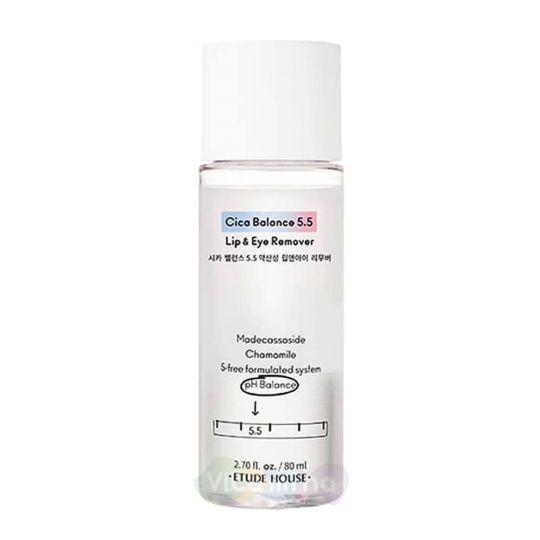 Etude House Двухфазное очищающее средство для снятия макияжа с глаз Balance 5.5 Lip&Eye Remover, 80 мл
