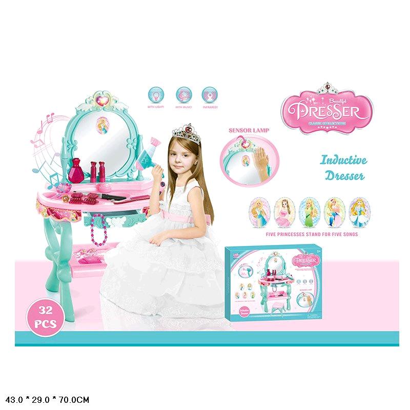 YL60013 Туалетный столик трюмо для девочки