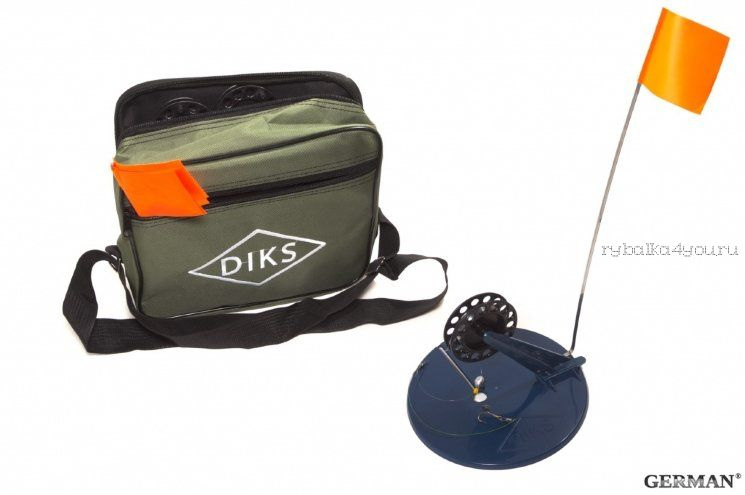 Жерлица в сумке German оснащенная малая ДИКС-2 (6 шт)