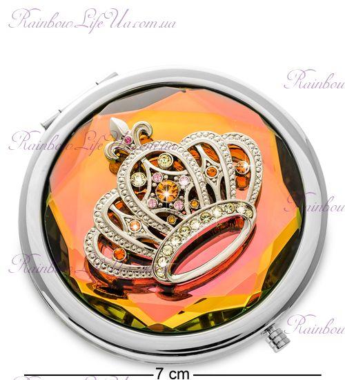 "Зеркало корона со стразами ""Win"""