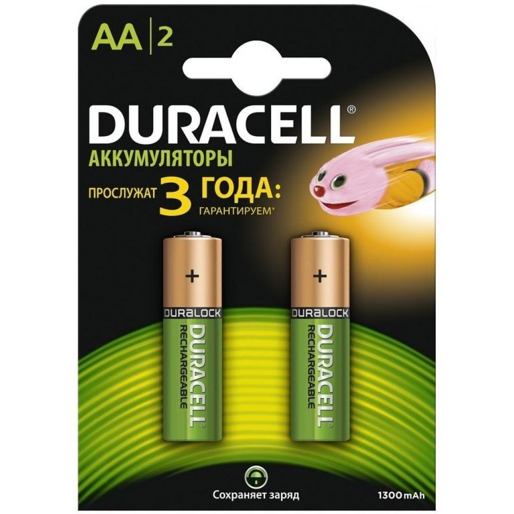 Аккумулятор Duracell 1300 мАч Ni-Mh AA (R06) HR6 1.2В блистер 1 шт