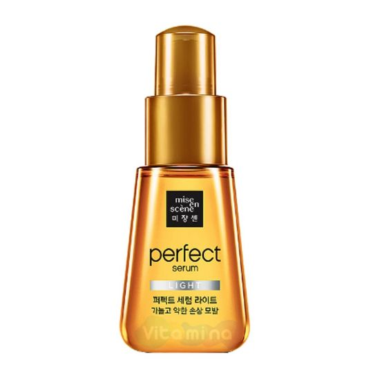 Mise En Scene Легкая сыворотка-масло для сухих волос Perfect Serum Light, 70 мл