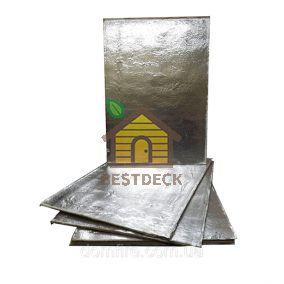 Базальтовая плита фольгированная 1250х460х10 мм