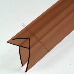 Угловой профиль 8-10мм (6м) Цвет: бронзовый